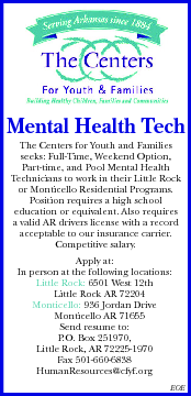 Mental Health Technician At Centers For Youth And Fam Disabled Person